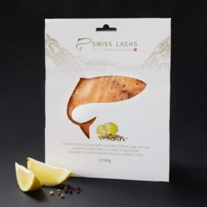 Swiss Lachs verfeinert mit Zitrone & Pfeffer